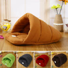 Cat Dog House Puppy Cave Pet Sleeping Bed Mat Pad Igloo Nest Fashion S,M,L,XL