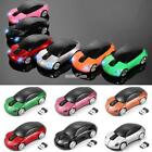 Car Shape 2.4GHz Wireless Cordless Optical Mouse USB Receiver for PC S0BZ