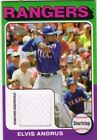 2011 Topps Lineage 1975 Mini Relics Jersey #EA Elvis Andrus
