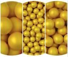 Gold Glimmer Choco Balls - choice of size - cake decoration, dragees