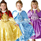 Winter Disney Princess Girls Fancy Dress Fairy Tale Book Day Kids Childs Costume