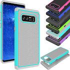 For Galaxy Note 8 Case Hard Silicon Shock Proof Rugged Defender Cover Dual Layer