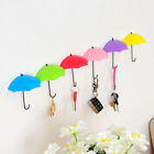 3PC/Set Wall Mount Key Holder Wall Hook Umbrella Hanger Organizer Durable