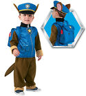 FANCY DRESS COSTUME ~ BOYS PAW PATROL CHASE CHILDS OUTFIT AGES 1-4 YEARS