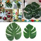 12Pcs Hawaiian Artificial Luau Tropical Leaf Jungle Palm Simulation Beach Party