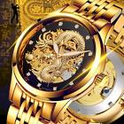Quality MODUN Mechanical Hollow Dragon Waterproof Multi-function Brand Watches