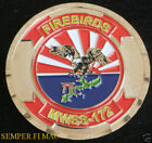MWSS-172 FIREBIRDS CHALLENGE COIN US MARINES MCAS 1ST MAW PIN UP CAMP FOSTER MR