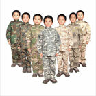 7475 Kids Camo Uniform Boys CS Tactical Military Outfits Training Jacket Pants