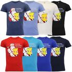 Mens Christmas T Shirt Cotton Xmas Santa Claus Novelty Fashion Festive Gift New