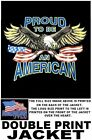 PROUD TO BE AMERICAN VETERAN AMERICA PRIDE EAGLE FLAG PATRIOTIC USA JACKET 524