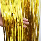 2 x1m Metallic Fringe Curtain Party Foil Tinsel Room Door Wholesale Wedding Home