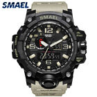 Hot Men's Luxury Analog Quartz Dual Display Wrist Watches LED Electronic Watches