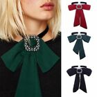 Fashion Women Bow Tie Chain Choker Statement Chunky Collar Pendant Necklace