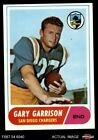 #36 Gary Garrison Chargers EX/MT $3.5 USD