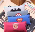 Canvas League of Heroes Make Up Cosmetic Bag Pencil Case Stationery Pouch Bag US