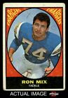 1967 Topps #125 Ron Mix Chargers GOOD $1.8 USD