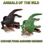 "A to Z - Animals Of the World - Plastic 9"" CROCODILE Toy - Assorted Colours"