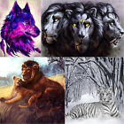 Lion Wolf 5D Diamond Embroidery Painting Cross Stitch Mosaic DIY Home Room Decor
