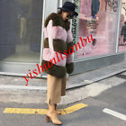 New Faux Fox Fur Coats Womens Winter Long Waistcoats Chic Vests Warm Thicken Hot