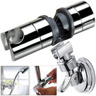Adjustable 18 - 25mm Shower Head Rail Slider Holder & Wall Mount Suction Bracket