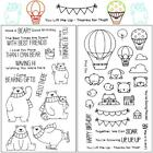 Transparent Rubber Stamp Seal Album Pet Series Craft Scrapbooking ED