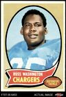 1970 Topps #206 Russ Washington Chargers Mizzou 7 - NM $11.0 USD on eBay
