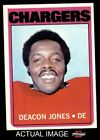 1972 Topps #209 Deacon  Jones -  Chargers NM $16.5 USD