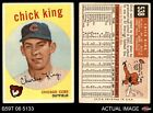 1959 Topps #538 Chick King Cubs GOOD