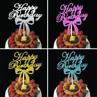 Boy Girl Kid Happy Birthday Toppers Cake Cupcake Bunting Banner Party Decor