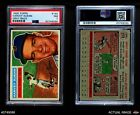 1956 Topps #155 Harvey Kuenn Grey Back Tigers PSA 7 - NM