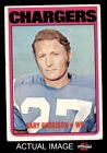 1972 Topps #192 Gary Garrison Chargers VG $0.99 USD