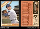 1966 Topps #290 Ron Santo Cubs VG EX