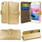 PU Leather Wallet Magnetic Flip Phone Case Cover For Apple iPhone 5 6 7 8 Plus X