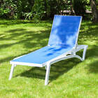 Pacific Adjustable 5 Position Sun Lounger – Choice of Colours