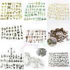 Wholesale 50/100Pcs Assorted Alloy Steampunk Pendant Craft Jewelry Finding DIY