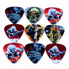 10Pcs Iron Maiden Rock Band Guitar Picks Plectrums Both Sides Your Choice Size