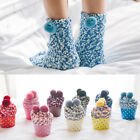 Ladies Women Girls Soft Fluffy Socks Warm Winter Cosy Lounge Bed Socks Fad UK