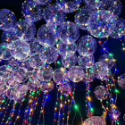LOT LED Light Fairy Colorful Balloons Lamp Christmas Wedding Party Decoration