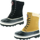 Revenant Mens Waterproof Sherpa Snow Duck Boots