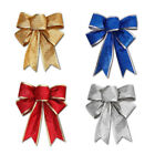 Bow Bowknot Christmas Tree Ornaments Xmas Tree Respite Party Home Decor Present