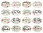 Внешний вид - Vintage Image Shabby Victorian Rose French Labels Waterslide Decals LAB435