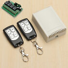 12V 10A RELAY 1/2/3/4 CH Wireless Remote Control Switch Transmitter&Receiver New