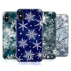 HEAD CASE DESIGNS WINTER PRINTS SOFT GEL CASE FOR APPLE iPHONE X