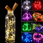 2M 20-LEDs Cork Shaped String Light Wine Bottle Wire Strip Fairy Lamp Decoration