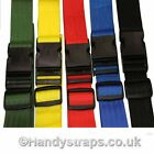 2 x 50mm  2.5meter Side release Luggage/Suitcase TieDown Strap