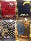 New Licensed NFL Super Soft Thick Sherpa Throw 50x60 Blanket MSRP $40 Great Gift on eBay
