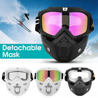 Flexible Glasses Face Mask Motorcycle Motocross Off-Road Dirt Riding Bike Goggle