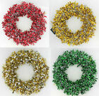 CHRISTMAS TINSEL WREATHS STYLE 051/489