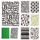 Christmas Birthday Gift Plastic Embossing Folders for DIS Paper Craft Modern SC