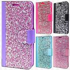 For Apple iPhone X Premium Bling Diamond Wallet Case Flip Pouch Phone Cover